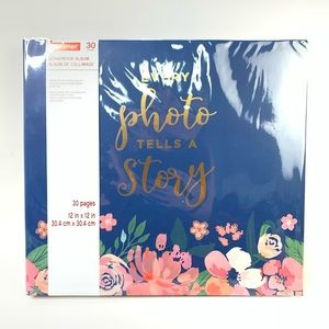 30 pages craftsmart scrapbook album travel themed